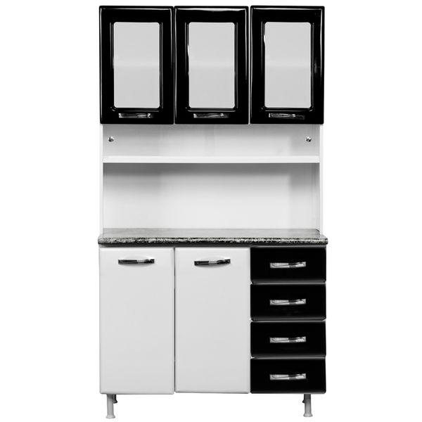 Muebles De Cocina Blanco | Mueble De Cocina Blanco Con Negro M22811 Compra En Pycca Pycca