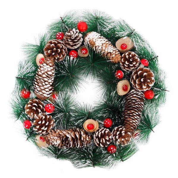 Compra Coronas De Navidad Para El Hogar Online Pycca - Coronas-navidad